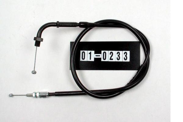 Cable, Black Vinyl, Throttle