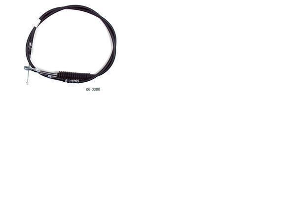 Black Vinyl PushThrottle Cable Motion Pro 03-0388
