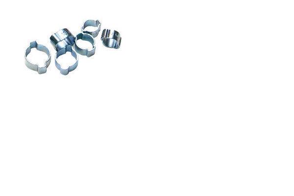 Steel O Clip 9/16 Pk/10