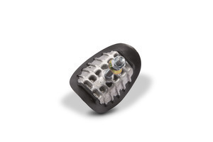 Rim lock, aluminum, 1.85