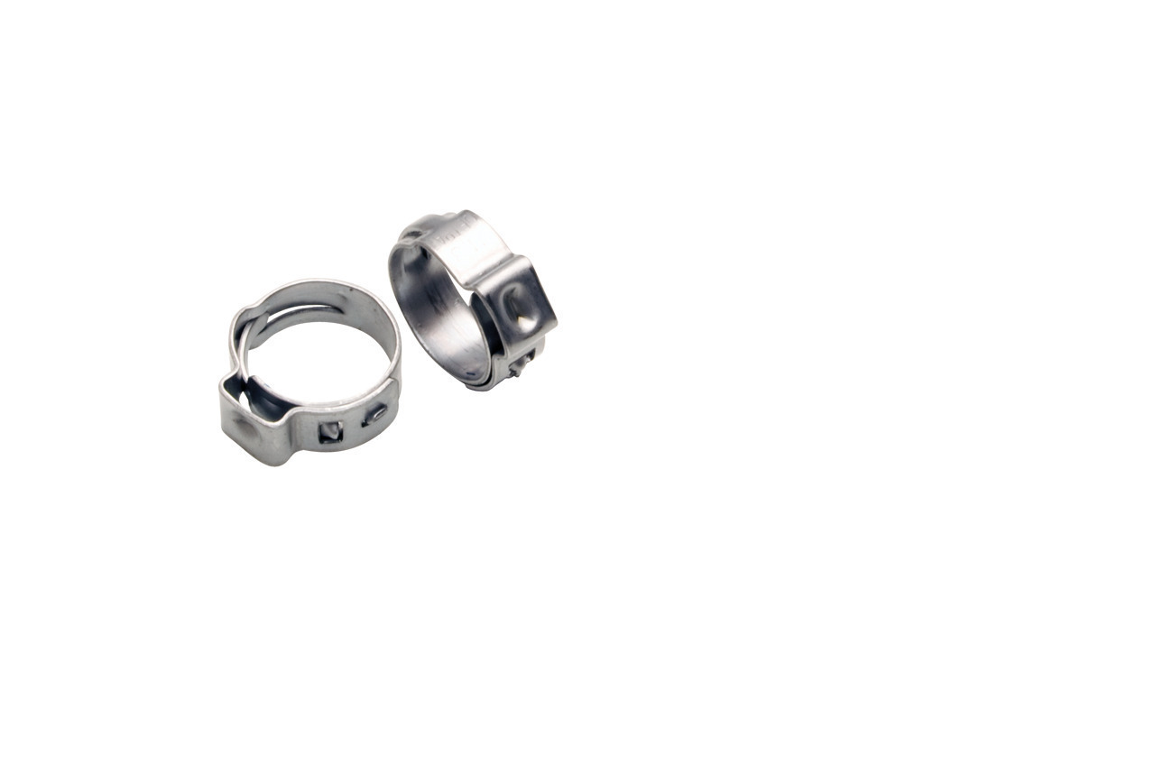 Stepless Ear Clamps, 9.6mm to 11.3mm range, 10 pcs