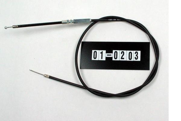 Cable, Black Vinyl, Univ Comp Rel/Throttle