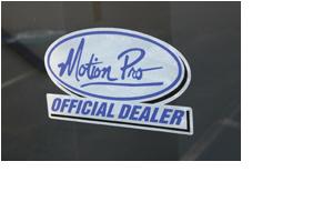 Official Dealer Decal