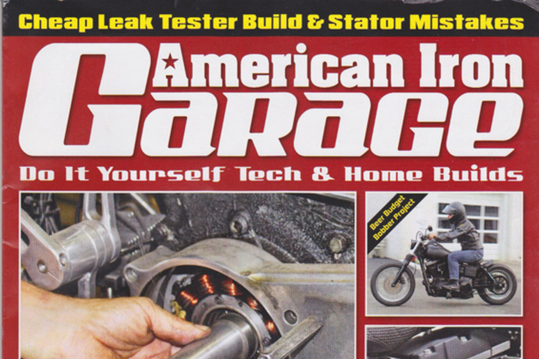Product Feature: American Iron Garage February 2018