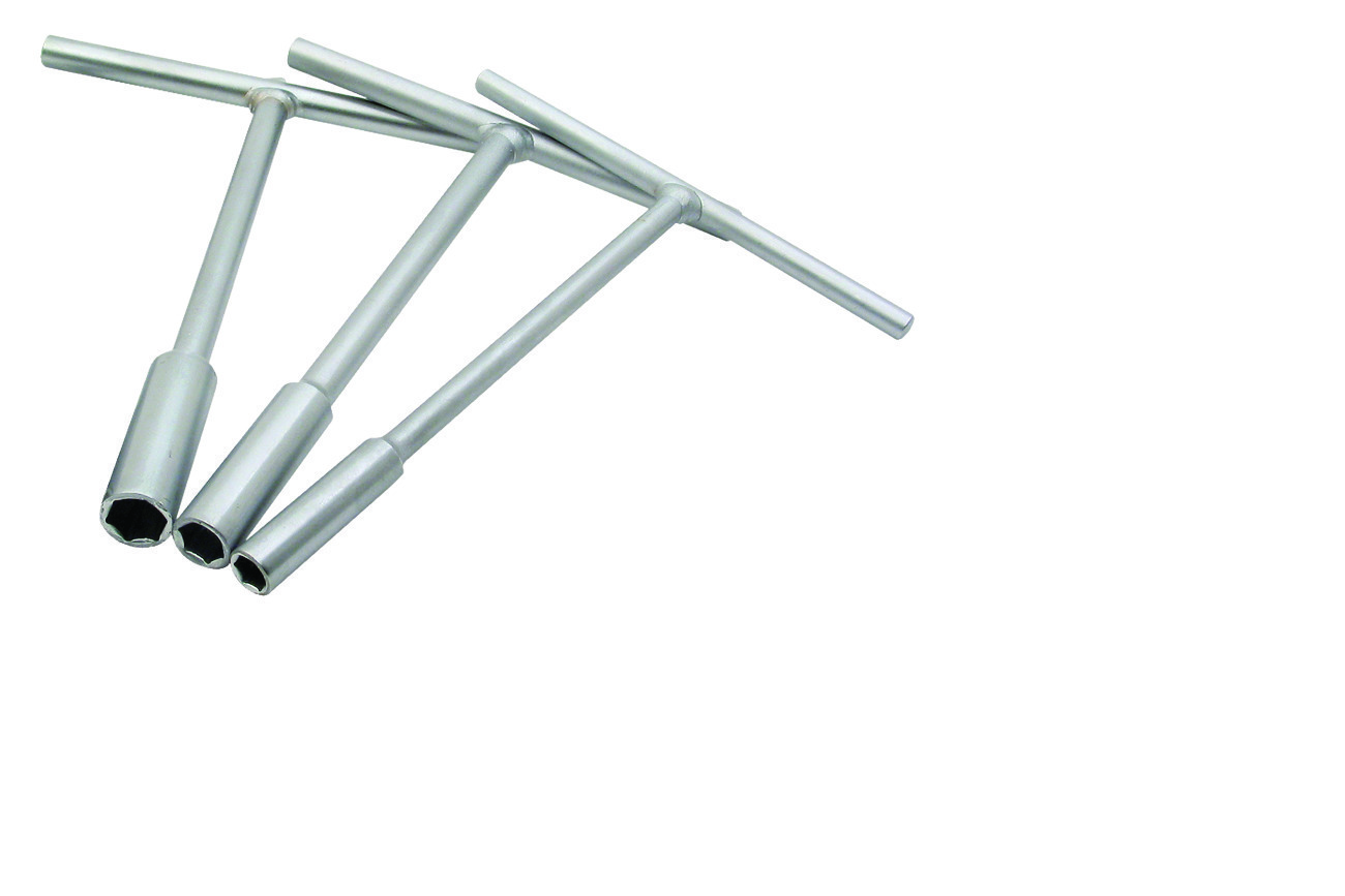 Mini-Pro T-Handle Set 8,10,12mm