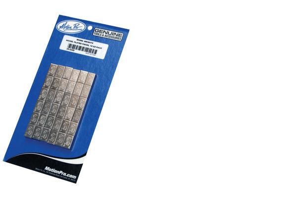 Wheel Weights, Steel, Nickel, 18 oz Pack, 72 1/4 oz Segments