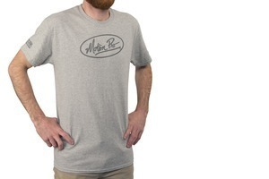 MP Crew Tee, Grey, X-Large