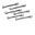 Ergo Spoke Wrench™ set, 6 pc., 5.0, 6.0, 6.3, 6.5, 6.8, 7.0mm