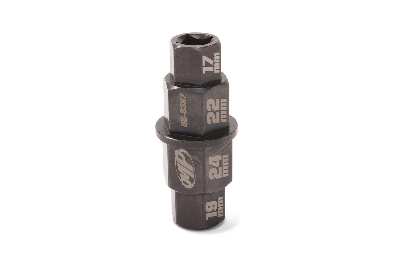 Hex Axle Tool 17,19,22,24 mm, Chromoly