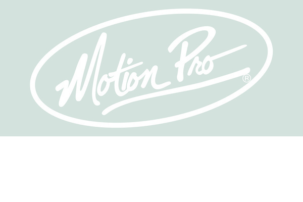 """Decal, 23"""" Motion Pro Die Cut, White"""