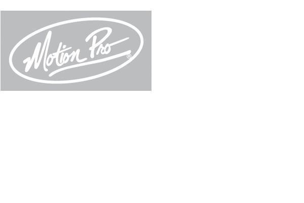 """Decal, 12"""" Motion Pro Die Cut, White"""