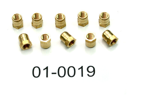 Carb cap fitting adapter, Pk/10