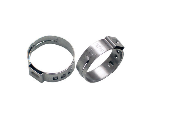 Stepless Ear Clamps, 23.9mm to 27.1mm range, 10 pcs