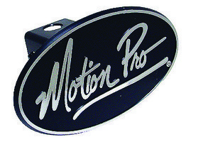 Hitch Cover, MP, Black Oval