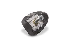 Rim lock, aluminum, 1.60/1.40