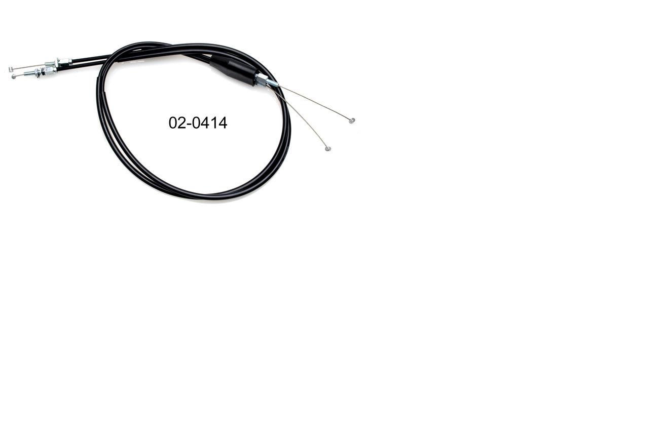 MOTION PRO BLACK VINYL THROTTLE CABLE 02-0418 MC Honda