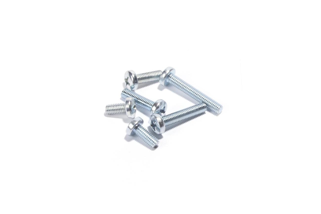 Screw Pan M5XP0.8X30, Pk-10