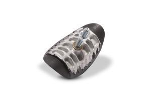 Rim lock, aluminum, 2.15