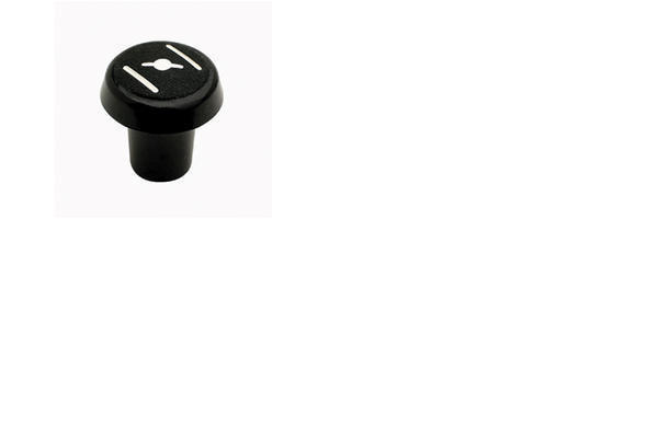 Choke Knob, 8-32 Pitch Thread Pk/5 Blk
